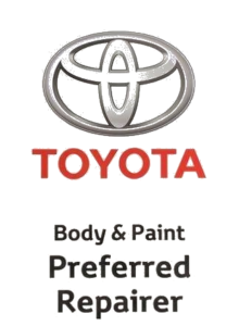 Toyota Body and Paint Preferred Repairer
